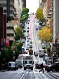 San Francisco Trolley on California Street in SF 247