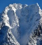 Heavy snow on mountain 230