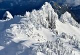 Frozen Mountan of Cascade Mountians Washington 1431