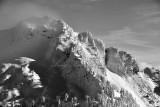Heavy snow in Cascade Mountains 447