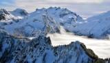 Mt Daniel and Mt Hinman Cascade Mountains 354
