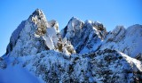 Overcoat Peak and Chimney Rock in the Cascade Mountains 296