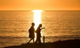 Catching the sunset in Carlsbad California 052