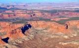 The Big Ridge Orange Cliffs Glen Canyon Recreation Area Hite Utah 917