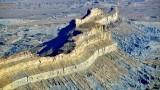 Buttleship Butte part of Little Elliott Mesa Book Cliffs Utah 409
