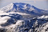Mt St Helens National Volcanic Monument and Spirit Lake Washington 094