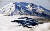 Mt St Helens National Volcanic Monument and Spirit Lake Washington 114