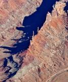 Zeus and Moses above Taylor Canyon Canyonlands National Park Utah 551