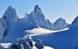 Chimney Rock and Lemah Mountain Cascade Mountains Washington 300