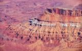 Butte above Lockhart Canyon and Basin Canyonlands National Park Utah 649
