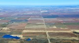 Colorful landscape south of Altus Oklahoma 240