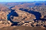 Great Bend Lake Powell San Juan River Grey Mesa Piute Mesa No Mans Mesa Arizona 1219