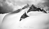 Spire Point on Dana Glacier North Cascades Mountain Washington  392