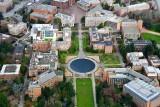 University of Washington Drumheller Fountain Rainier Vista Red Square Seattle Washington 556