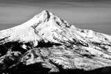Mount Hood, Pulpit Rock, Copper Spur, Eliat Glacier, Langille Crags, Coe Glacier, Barrett Spur, Oregon 214