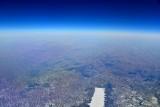Flying over Nebraska at 39000 feet in Citation Mustang 051