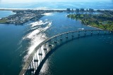 Coronado, Coronado Bridge, Silver Strand, Peninsula of San Diego, California 367
