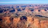 The Big Ridge, North Hatch Canyon, Orange Cliffs, Glen Canyon Recreation Area, Hite Utah 934