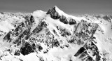 Mt Shuksan, Summit Pyramid, Nooksack Tower, Lower Curtis Glacier, White Salmon Glacier, North Cascades National Park, Washington