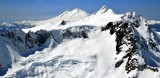 Mt Shuksan, Summit Pyramid, Nooksack Tower, East Nooksack Glacier,  Jagged Ridge, Mt Baker, North Cascades National Park