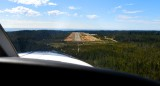 Kodiak Quest short final to Little River Airport Mendocino California 073