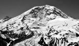 Mt Rainier National Park,  Carbon Glacier, Liberty Cap, Curtis Ridge, Wallis Wall, Little Tahoma Peak, Washington 045