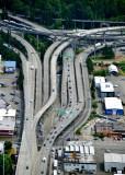 West Seattle Bridge and Interstate 5 interchange in Seattle, Washington 028