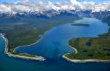 Lituya Bay, Cenotaph Island, Solomon Railroad,Fairweather Range,  Glacier Bay National Monument, Alaska 648