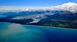 Glacier, Fairweather Lake, Mount Fairweather, Glacier Bay National Monument, Alaska 688