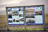 Skeiðará Bridge Monument near Skeiðarársandur.Iceland 536