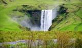Skogafoss waterfall, Skoga River, Skogar Iceland 291