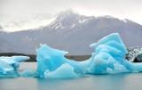 Icebergs in  Jökulsárlón glacial lagoon, Iceland 957