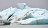 Polar Bear Iceberg in Jökulsárlón glacial lagoon, Iceland 1005