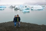 The Nguyens at Jökulsárlón glacial lagoon, Iceland 1119