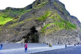 Hálsanefshellir Cave in the Reynisfjara Beach, Iceland 1497