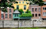 Garden on balcony in Namur Belgium 049