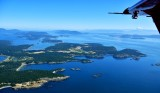 Lopez Island from Kodiak floatplane 227