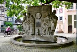 Willi Ostermann Brunnen, Ostermannplatz, Koln, Germany 168