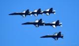Blue Angels over head Boeing Field, Seattle Washington 482