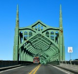 McCullough Bridge across Coos Bay on Oregon Coast Highway, North Bend, Oregon 227