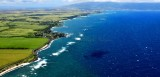 Looking toward Paia and Kahului,  Mauna Kahalawai (the West Maui Mountains) 320