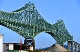 McCullough Bridge across Coos Bay on Oregon Coast Highway, North Bend, Oregon 005