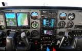 N7256D Cessna 206 cockpit 301