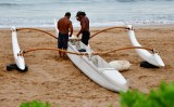 Morning Prep for outrigger, Maui Hawaii 113