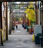 Alley in Bend Oregon 316