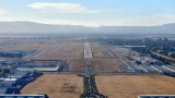 Landing on runway 25R at Livermore Airport in Kodiak Quest 174
