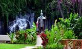 Statue at Grand Wailea Hotel, Maui, Hawaii 223