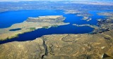 Steamboat Rock State Park, Devils Punch Bowl, Grand Coulee Dam Airport, Bank Lake, Electric City, Washington 364