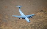 Travis AFB C-5 Galaxy over Travis California 339