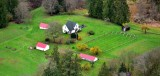 Beautiful farm along the Snoqualmie River Valley, Carnation Washington 083